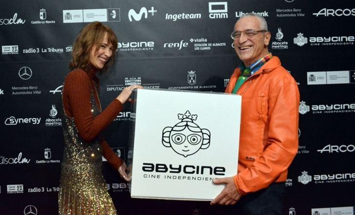 Ingrid García-Jonsson recogió su Premio Trayectoria Joven de Abycine