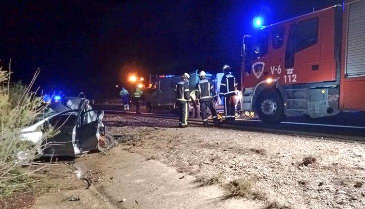 Una mujer de 37 años muere en la A-30, en Tobarra (Albacete), tras ser arrollado su turismo por un camión