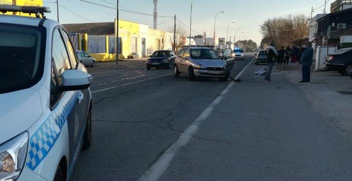 Accidente de tráfico en la salida de Albacete por la carretera de Jaén