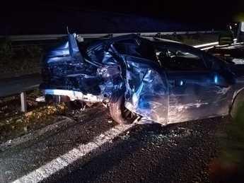 Una colisión entre dos turismos deja una fallecida y cinco heridos en Castillejo de Iniesta (Cuenca)
