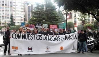 Celebrada la marcha organizada en Albacete con motivo del Día Internacional de las Personas con Discapacidad
