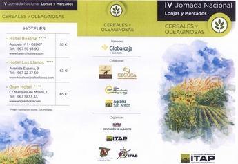 Albacete acoge hoy las jornadas de Lonjas Sectoriales Nacionales de Cereales y Ovino