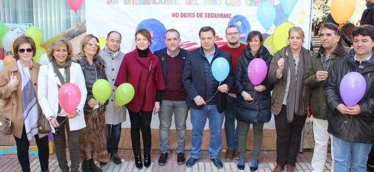 Coraje y esperanza en el acto de AFANION en Albacete con motivo del Día del niño con cáncer