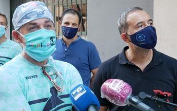 Comienza el reto solidario 'Afanion pedalea por La Mancha', con 760 kilómetros de recorrido