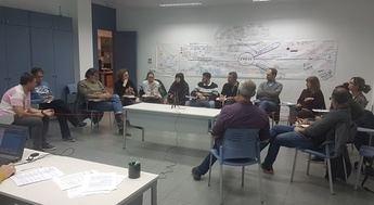 Agenda 21 Escolar de Albacete invitado por Educación de Valencia ara explicar al profesorado su metodología de trabajo