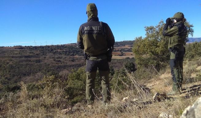 Los agentes medioambientales realizan 2.000 servicios en temporada caza menor