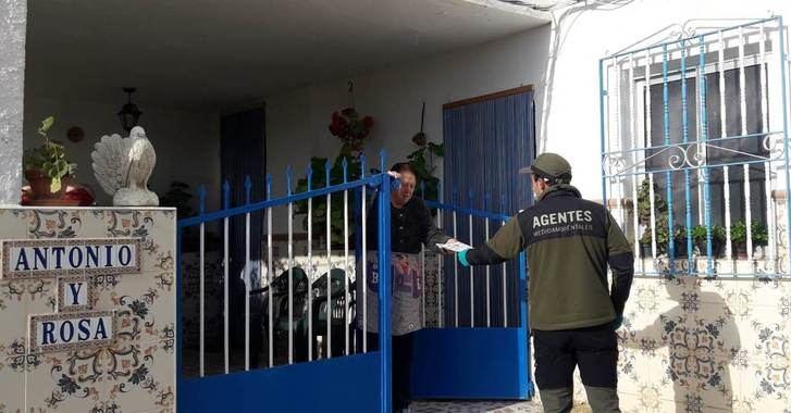 Personal del Geacam y Agentes Medioambientales siguen ayudando en la provincia de Albacete