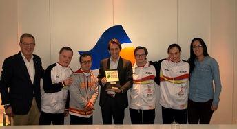 Aguas de Albacete se convierte en el principal patrocinador de los clubes de deporte de Asprona