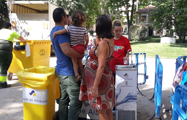 Aguas de Albacete prepara su Feria Infantil 2019, 'La Feria del Agua'