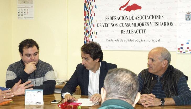 Aguas de Albacete hace entrega de las ayudas a las ocho asociaciones de vecinos que tuvieron escuelas de verano