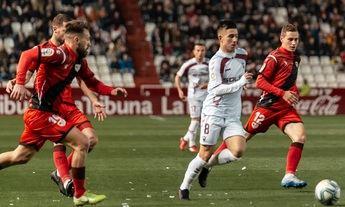 El Albacete Balompié salvó un punto en el Carlos Belmonte ante el Rayo (1-1)