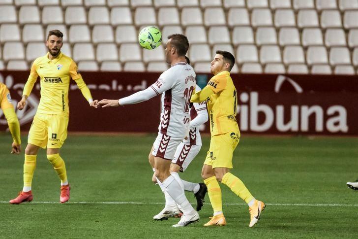El Albacete Balompié no pasó del empate en casa ante el Málaga (1-1)