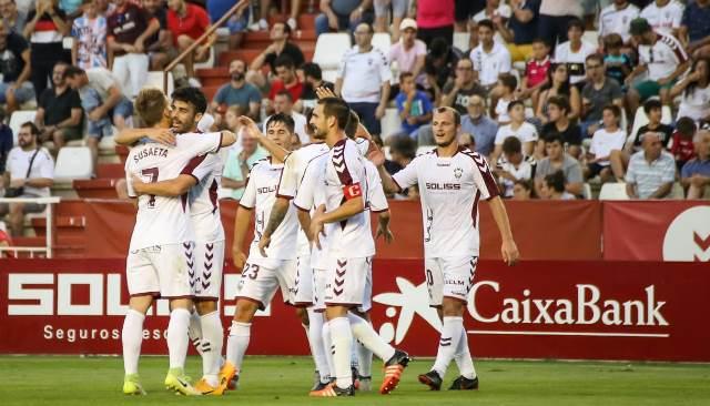 El lateral zurdo Fran García renueva su contrato con el Albacete Balompié hasta el 2020