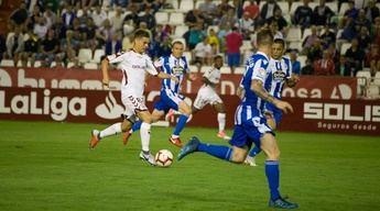 El Albacete empató con un penalti polémico en su debut liguero ante el Deportivo (1-1)