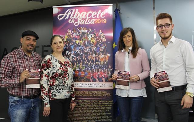 Presentado el X Encuentro Internacional de Salsa y Ritmos Latinos 'Albacete en Salsa 2019'