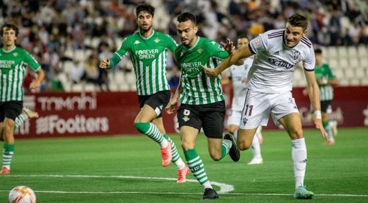 El Albacete Balompié no logra pasar del empate ante el filial del Betis (1-1)