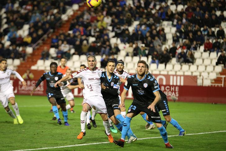 El Albacete logró el triunfo ante el Lugo con un gol de Bela en el minuto 84 (1-0)
