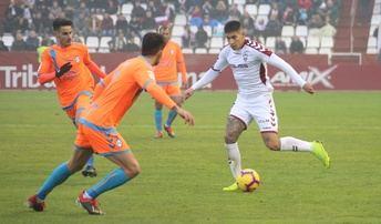 El Albacete Balompié pierde tras doce jornadas después y cae a la cuarta posición de la tabla