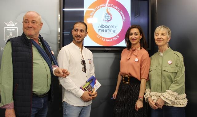 Albacete promocionará en Francia el tercer Encuentro Mundial de Cuchillería