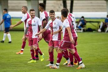 Imagen del amistoso Albacete-Majadahonda (2-0).