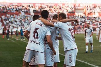 El Albacete Balompié necesita ganar al Almería este domingo para distanciarse de los puestos de descenso
