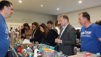 Albatoy abre sus puertas en la quinta edición de esta feria del coleccionismo de juguetes, en Albacete