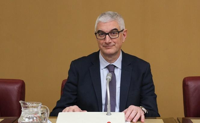 El concejal de Hacienda del Ayuntamiento de Albacete, explica los nuevos presupuestos