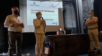 El Sescan explica en Hellín a la comunidad educativa las normas sobre el covid ante el inicio del curso