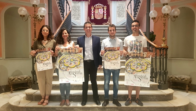 Las Alfombras de Serrín de Elche de la Sierra, embajadoras de Albacete en todo el mundo