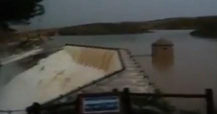 Tres carreteras en la provincia de Albacete siguen cortadas por la lluvia