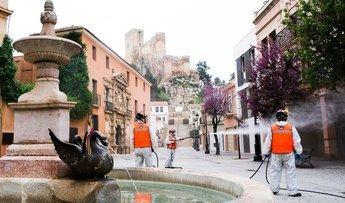 Protección Civil de Almansa ha realizado más de 100 servicios durante el estado de alarma