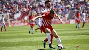 Una jugada del partido disputado por Almería y Albacete.