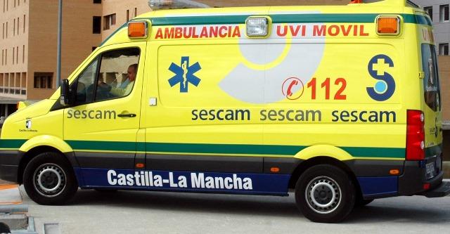 Accidente laboral de un hombre de 62 años en Alpera (Albacete), herido y trasladado de urgencias