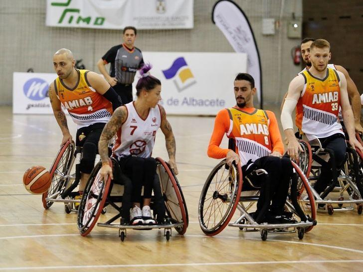 El BSR Amiab Albacete tuvo un partido cómodo ante el Iberconsa Amfiv (77-49)