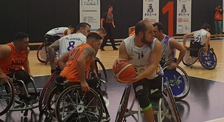 El BSR Amiab Albacete se hizo con una plaza en las semifinales de la Copa del Rey