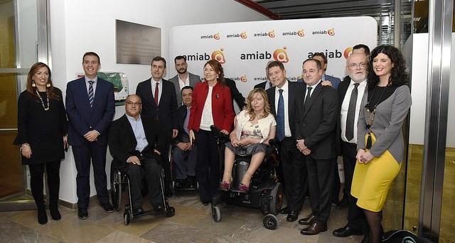 Page afirma en la entrega de premios de AMIAB que Albacete tendrá un hospital nuevo la próxima legislatura