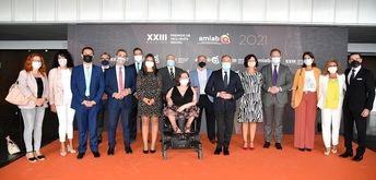 Amiab reconoce a instituciones, empresas, medios de comunicación y particulares con sus XXIII Premios Inclusión Social