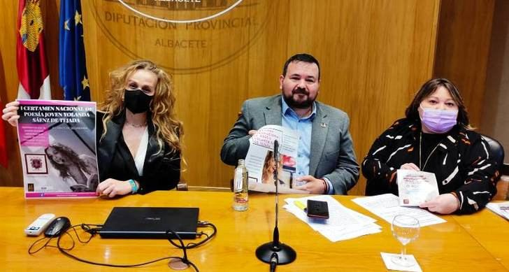 La Diputación apoya eI Certamen Nacional de Poesía para estudiantes Yolanda Saénz de Tejada, de El Bonillo