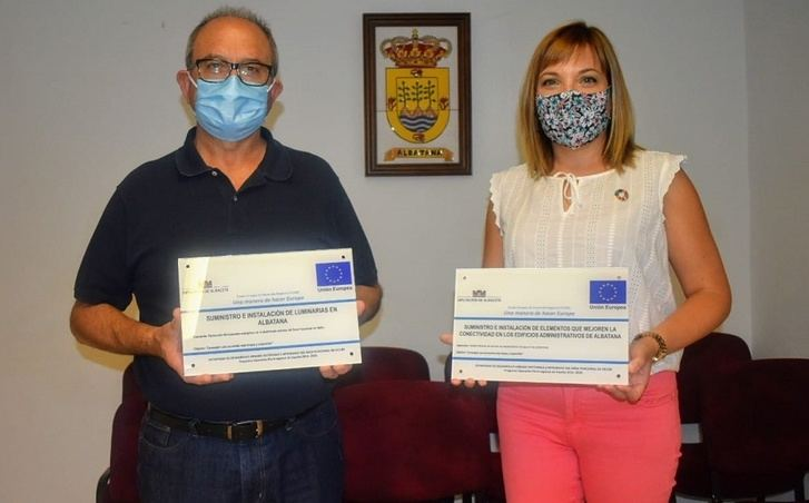 La Diputación de Albacete realizar en Albatana trabajos para mejorar la eficacia energética en el municipio