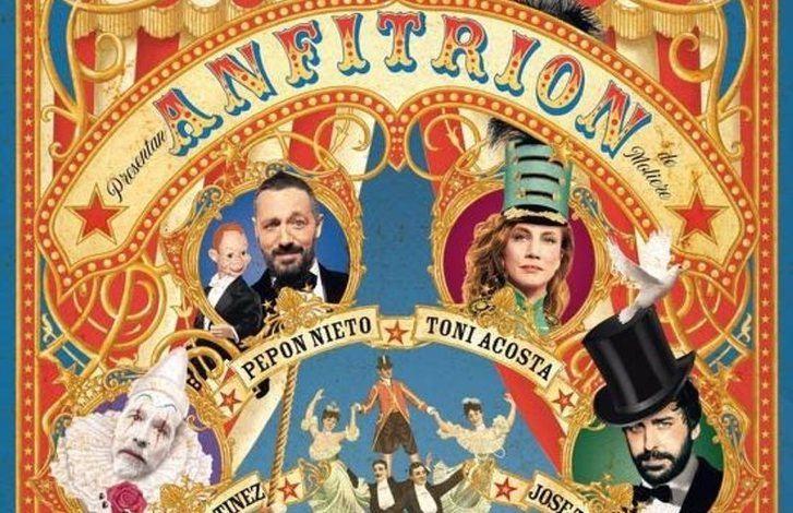 Pepón Nieto, Toni Acosta, Fele Martínez, José Troncoso, Dani Muriel y María Ordóñez protagonizan 'Anfitrión' en Albacete