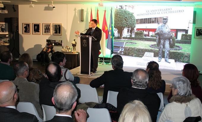 Albacete celebró el XX aniversario del 'Monumento al Cuchillero'