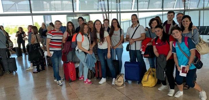Gran éxito del viaje cultural y de formación lingüística que organizó ANPE