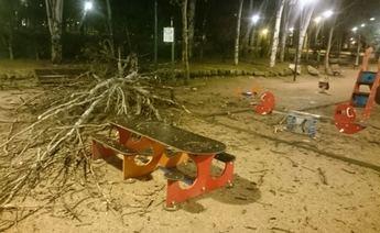 La borrasca Gabriel pone en alerta a la provincia de Albacete por el viento