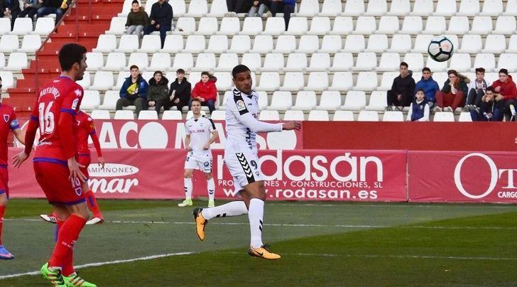 Un gol de Aridane permitió al Albacete sumar los tres puntos ante el Numancia (1-0)