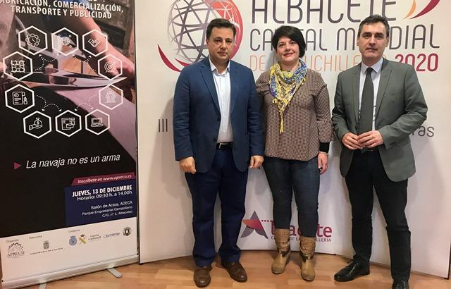 Jornada informativa en Albacete de 'Armas blancas: Fabricación, comercialización, transporte y publicidad'