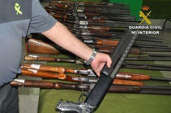La Comandancia de la Guardia Civil de Albacete acoge el 15 de noviembre una subasta de armas
