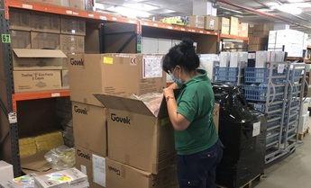 La Junta Castilla-La Mancha ha enviado esta semana más de 550.000 artículos de protección a los centros sanitarios
