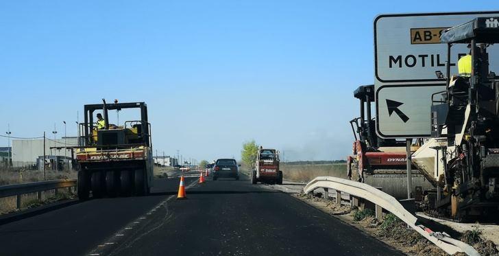 Romica renueva su imagen con las obras de asfaltado del polígono albaceteño