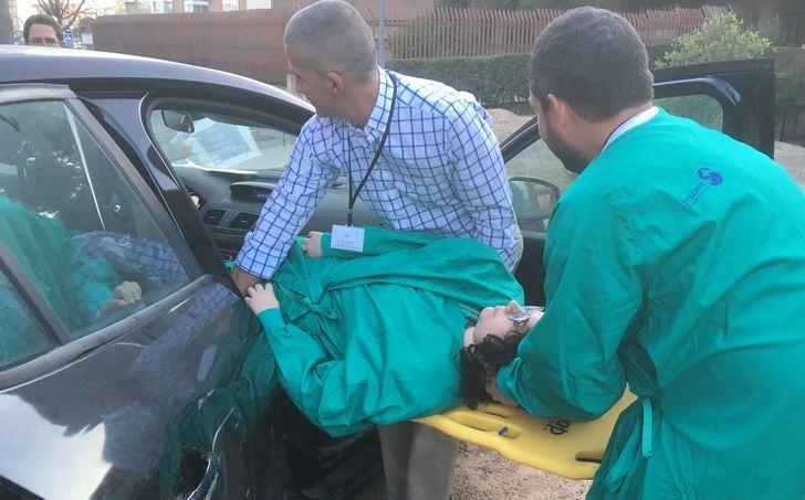 Profesionales sanitarios reciben formación sobre atención inicial al trauma pediátrico en Albacete