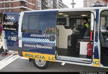 Detenido en Guadalajara un joven de 19 años, borracho, que agredió a un operario de la limpieza
